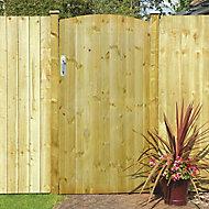 Grange Timber Gate, (H)1.8m (W)0.9m