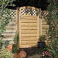Grange Woodbury Timber Gate, (H)0.99m (W)0.9m