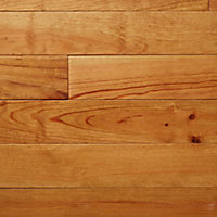 Granna Natural Satin Pine Solid wood Flooring Sample