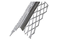 Grey Galvanised Cold-pressed steel Equal L-shaped Angle profile, (L)2m (W)32mm