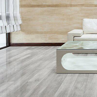 Grey Oak Effect Laminate Flooring 2