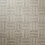 Grey Parquet Parquet effect Self adhesive Vinyl tile, Pack of 13