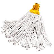 Grey & yellow Mop head, (W)120mm