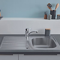 Grohe K200 Stainless steel 1 Bowl Kitchen sink