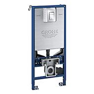 Grohe Rapid SLX Blue Wall-mounted Toilet Dual-flush Cistern frame set