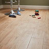 Guigliano Beige Matt Wood effect Ceramic Floor Tile Sample