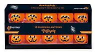 Halloween Pumpkin Battery-powered Orange 10 LED Indoor String lights