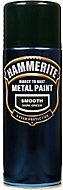 Hammerite Dark green Gloss Spray paint, 400ml