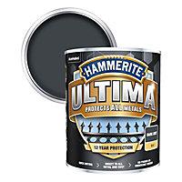 Hammerite Ultima Dark Grey Matt Metal paint, 750ml