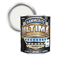 Hammerite Ultima White Gloss Metal paint, 750ml