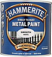 Hammerite White Gloss Metal paint, 2.5L