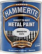 Hammerite White Gloss Metal paint, 750ml