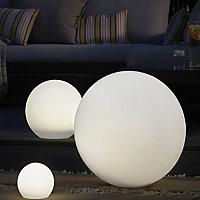 Hansboro White Solar-powered LED Outdoor Decorative light