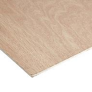 Hardwood Plywood Board (L)2.44m (W)1.22m (T)5mm