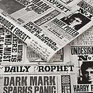 Harry Potter Black & white Daily prophet Smooth Wallpaper