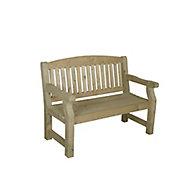 Harvington Wooden Natural timber Bench