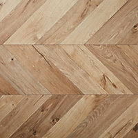 Heanor Natural Gloss Light oak effect Laminate Flooring Sample