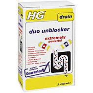HG Duo Drain unblocker, 1L