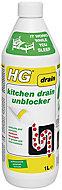 HG Kitchen Drain unblocker, 1L