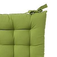 Hiva Green Plain Seat pad