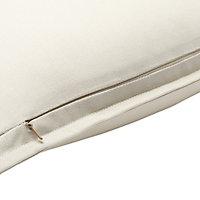Hiva Plain Beige Cushion (L)60cm x (W)60cm