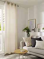 Hiva Plain Black Cushion (L)45cm x (W)45cm