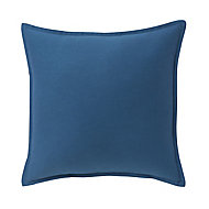 Hiva Plain Dark blue Cushion