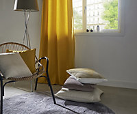 Hiva Plain Yellow Cushion (L)45cm x (W)45cm