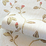 Holden Décor Lia Red Floral trail Smooth Wallpaper