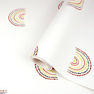 Holden Décor Multicolour Rainbow Smooth Wallpaper