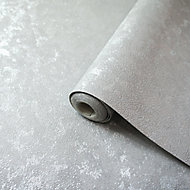 Holden Décor Sequin Silver effect Smooth Wallpaper