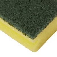 Household Sponge scourer, Pack of 3