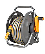 Hozelock 2 in 1 Freestanding Hose pipe set (L)25m