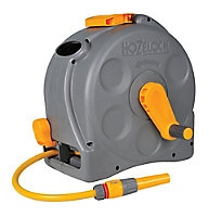 Hozelock 2 in 1 Wall-mounted Hose pipe set (L)25m