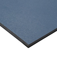 Hydrolic Marine blue Matt Porcelain Floor tile, Pack of 25, (L)200mm (W)200mm