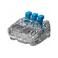 Ideal Blue 24A In-line wire connector, Pack of 40