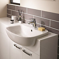 Ideal Standard Studio echo D-shaped Semi-recessed Basin