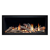 Ignite Pinnacle 860 Black Gas Fire