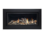 Ignite Pinnacle Black Gas Fire
