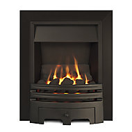 Ignite Westerly Open Fronted Black Gas Fire
