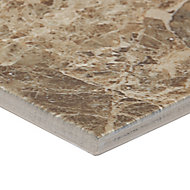Illusion Emper Gloss Patterned Stone effect Ceramic Wall & floor tile, (L)360mm (W)275mm, Sample