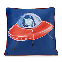 Imagine Fun Starship Multicolour Cushion