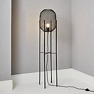 Inlight Brite Matt Black Floor lamp
