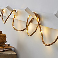 Inlight Rope Battery-powered Warm white 20 LED Indoor String lights