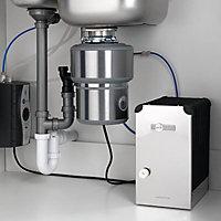 InSinkErator Chrome effect Modern Kitchen Mixer tap