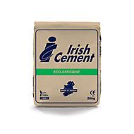 Irish Cement Grey Cement, 25kg Bag