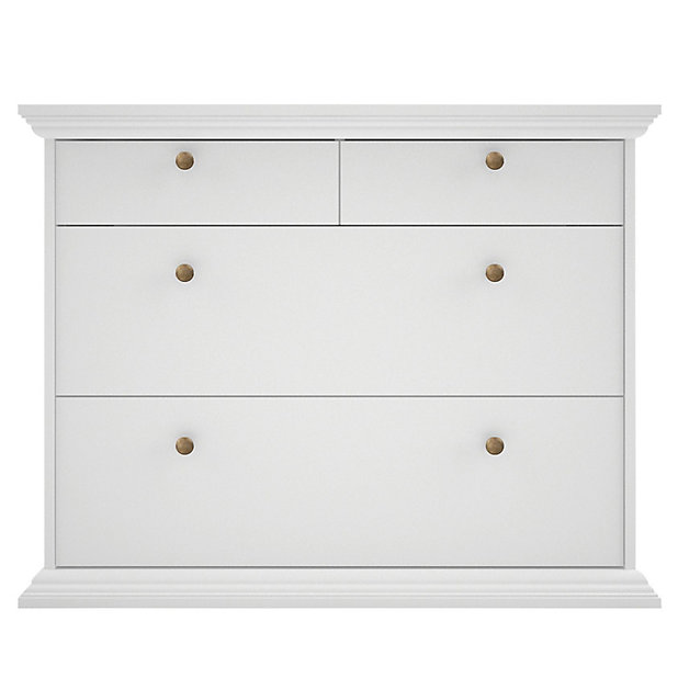 Isabella White 4 Piece Bedroom, White Bedroom Furniture Sets B Q