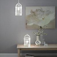 Isobel Cream Incandescent Table lamp