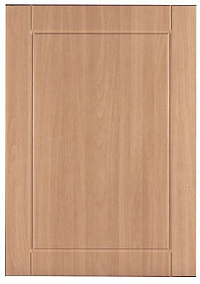 It Kitchens Chilton Beech Effect Standard Cabinet Door W 500mm Diy At B Q