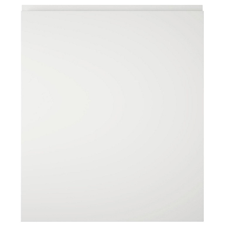 It Kitchens Marletti Gloss White Integrated Appliance Cabinet Door W 600mm Diy At B Q